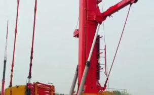 厂家重大设计突破,三一吊车还可以当塔吊用!