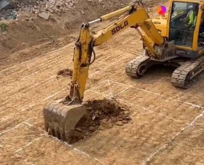挖掘机切内口线技巧,老师机手把手教你,学到了