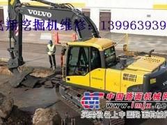 云南挖掘机维修 修理挖掘机温度高怠慢速憋车熄火