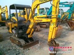 上海二手玉柴挖掘机市场||二手小型挖掘机