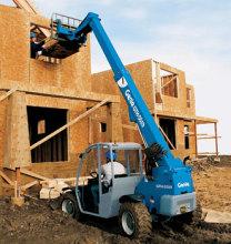 美国吉尼GTH™-5519紧凑型粗糙地面叉装机高清图 - 外观