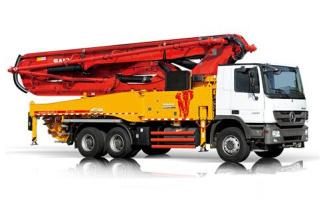 三一重工SY5320THB 470C-8S混凝土输送泵车高清图 - 外观