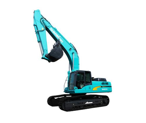 山河智能SWE215中型挖掘机