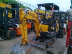 出售二手玉柴15-20挖掘机||二手小型挖掘机市场