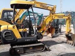 二手小型挖掘机市场||出售二手玉柴15-20微型挖掘机