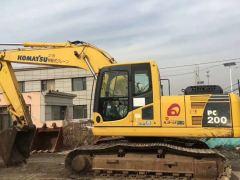 湖南出售二手小松200-8挖掘机,2字头挖掘机神钢200和210卡特320和323沃尔沃210和240日立200和240等现货出售