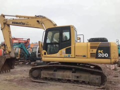 山西二手小松200-8挖掘机直销,2字头挖掘机神钢200和210卡特320和323沃尔沃210和240日立210和240等现货都有在售