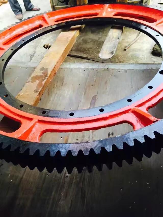 5米大齿轮小齿圈 球磨机烘干机齿轮定制锻造 型号齐全