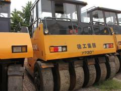 出租徐工22吨单钢轮租赁,30吨胶轮压路机租赁