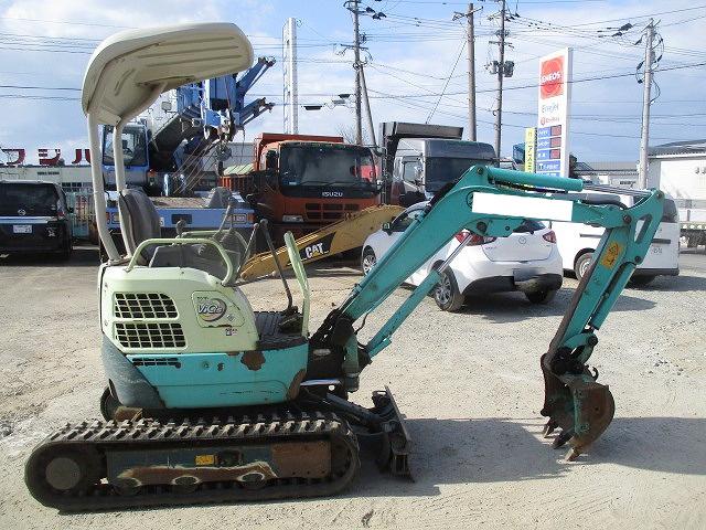 急售二手洋马VIO15-2A挖掘机日本原装进口小型挖掘机