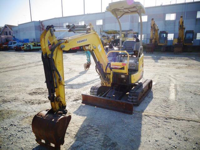 急售二手洋马VIO17挖掘机日本原装进口小型挖掘机