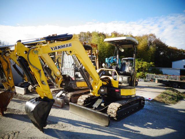 出售二手洋马VIO30-6挖掘机日本原装进口小型挖掘机