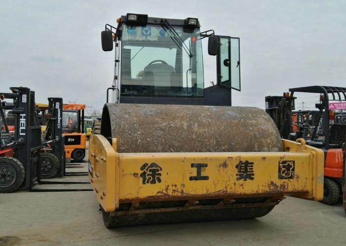海盐二手压路机市场|徐工20吨22吨26吨/单钢轮/振动压路机