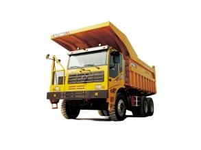 山东临工MT86H矿用卡车高清图 - 外观