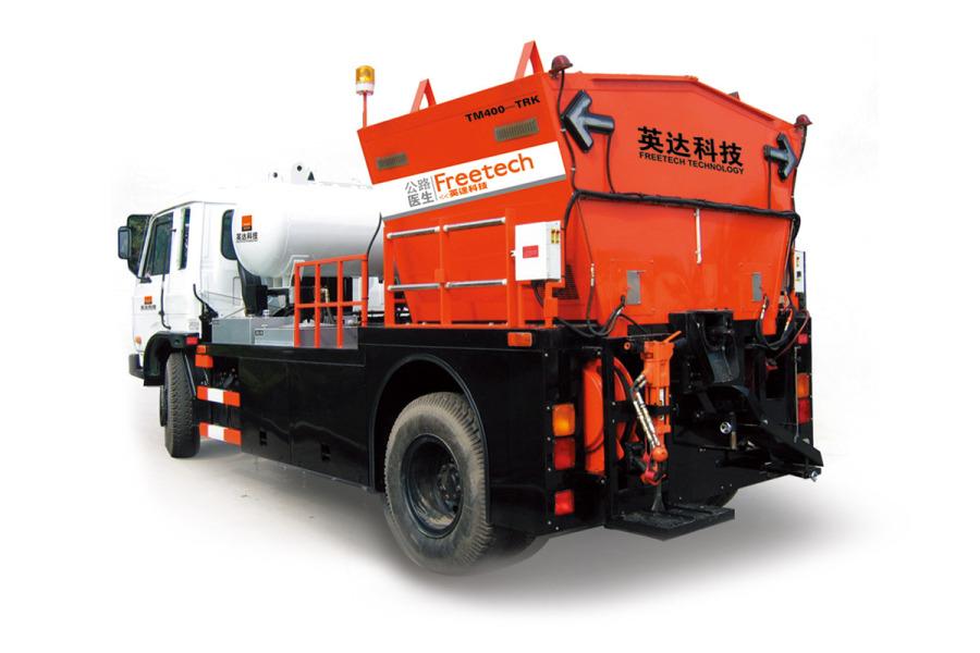英达TM400沥青路面综合养护车
