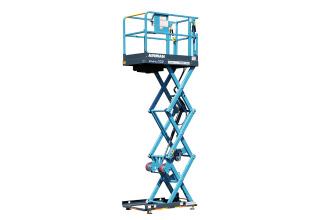 埃尔曼ENHL032剪叉式高空作业平台高清图 - 外观