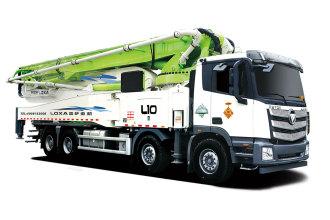 雷萨重机BJ5449THB-XD(L10-61米)泵车高清图 - 外观