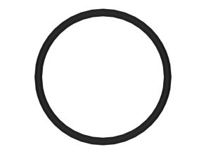 卡特彼勒8H-2046O 形密封圈高清图 - 外观