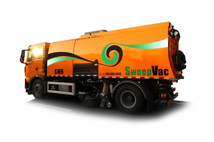 英达SW6安全智能清扫车