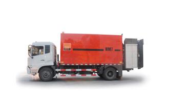英达HM7沥青路面加热设备高清图 - 外观