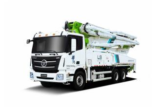 雷萨重机BJ5289THB-XD(L9-40米)泵车高清图 - 外观