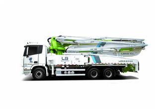 雷萨重机BJ5339THB-XD(L9-50米)泵车高清图 - 外观
