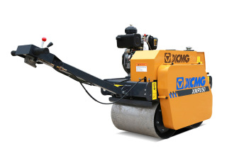 徐工XMR050手扶式双钢轮振动压路机高清图 - 外观