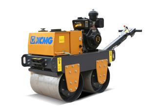徐工XMR060手扶式双钢轮振动压路机高清图 - 外观