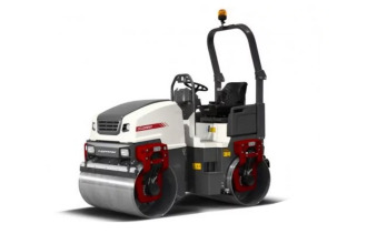 戴纳派克CC1200VI小型双钢轮振动压路机高清图 - 外观