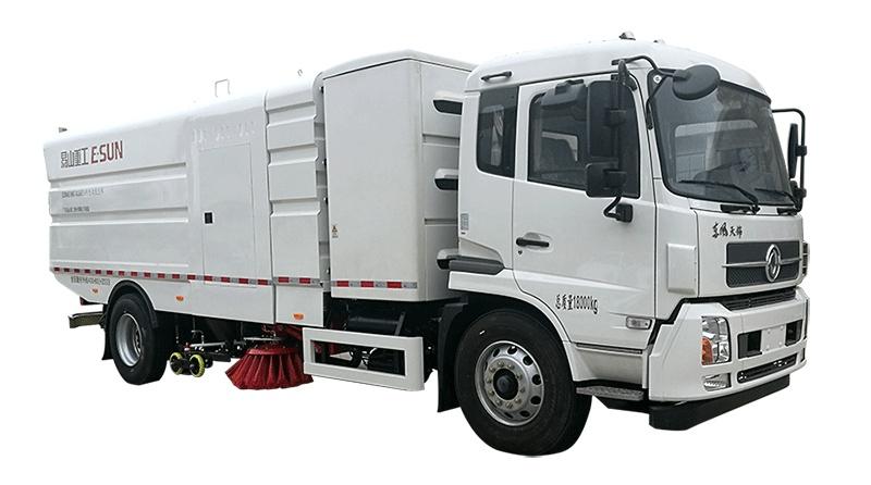 易山重工ESN5180TXSBEV纯电动洗扫车-厂家亏本出售