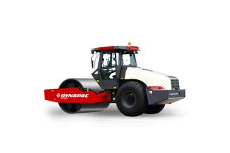 戴纳派克CA618D单钢轮振动压路机高清图 - 外观