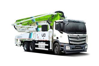 雷萨重机BJ5339THB-XD(L10-52米)泵车高清图 - 外观