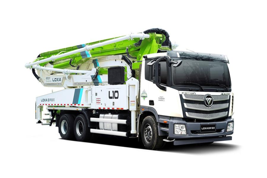 雷萨重机BJ5359THB-XF(L10-52米)泵车