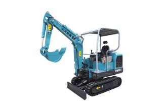 山沃机器SW20-8微型挖掘机/果园小型挖机高清图 - 外观
