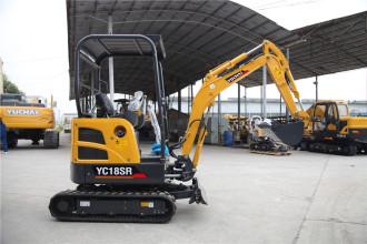 玉柴YC18SR挖掘机高清图 - 外观