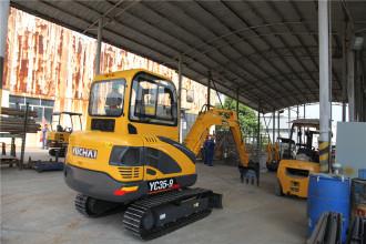 玉柴YC35-9挖掘机高清图 - 外观
