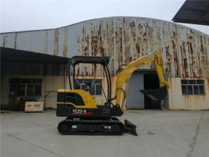 玉柴YC22-9挖掘机高清图 - 外观