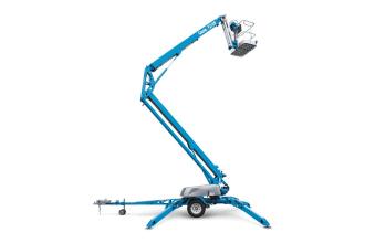 美国吉尼TZ-50拖车式曲臂型高空作业平台高清图 - 外观