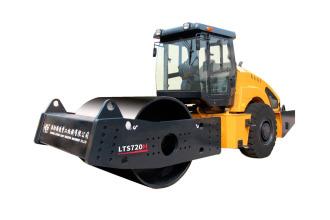 洛阳路通LTS723H高原型全液压单双驱振动压路机高清图 - 外观