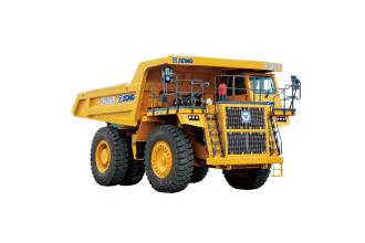 徐工XDM100矿用卡车高清图 - 外观