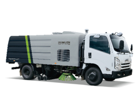 中联重科ZLJ5083TSLJXE5湿式扫路车高清图 - 外观
