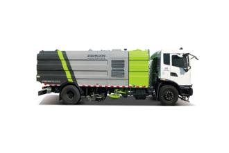 中联重科ZBH5070TXSQLE6洗扫车高清图 - 外观