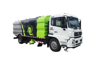 中联重科ZLJ5180TXSDFE5全水力洗扫车高清图 - 外观