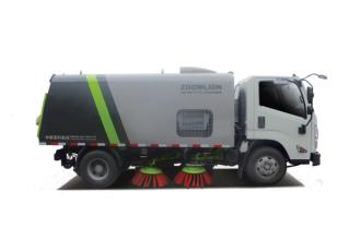 中联重科ZBH5183TSLDFE6湿式扫路车高清图 - 外观