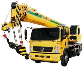 森源重工SMQ5160JQZ 12吨汽车吊高清图 - 外观
