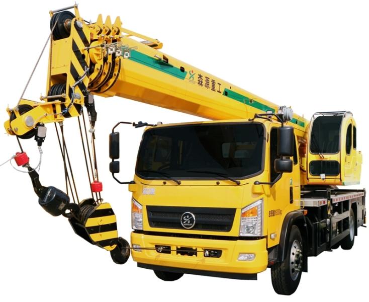 森源重工国标12吨汽车吊