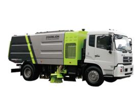 中联重科ZLJ5184TSLEQE5干式扫路车高清图 - 外观