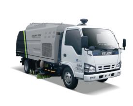 中联重科ZLJ5074TSLX1QLE5干式扫路车高清图 - 外观