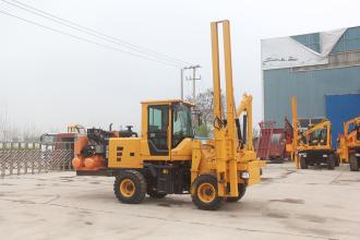 路霸LB-940(5m³)护栏打桩机高清图 - 外观