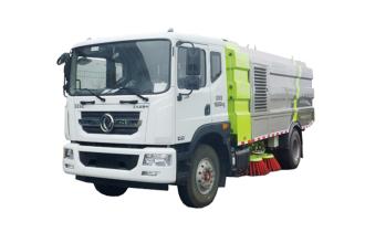 中联重科ZLJ5183TSLX1EQE5湿式扫路车高清图 - 外观